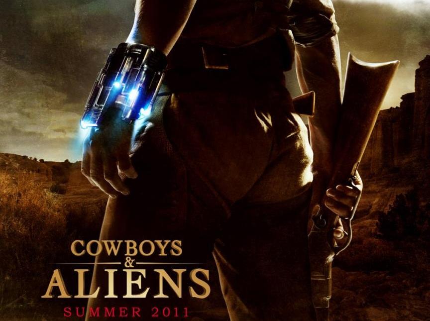 Cowboys %26 Aliens movie scenes Cowboys and Aliens Movie