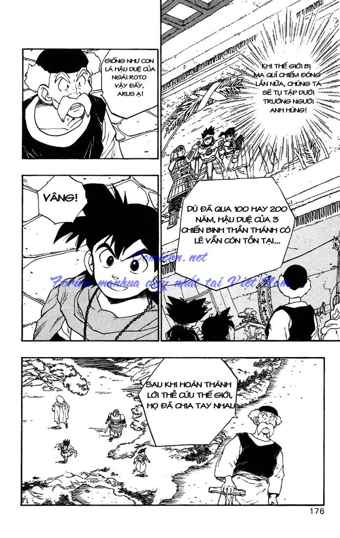 Dragon Quest: Emblem of Roto chapter 7 trang 17