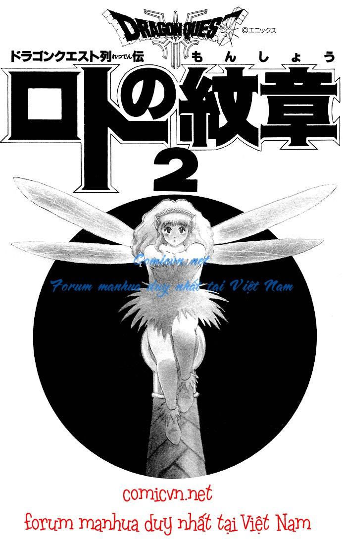 Dragon Quest: Emblem of Roto chapter 4 trang 3