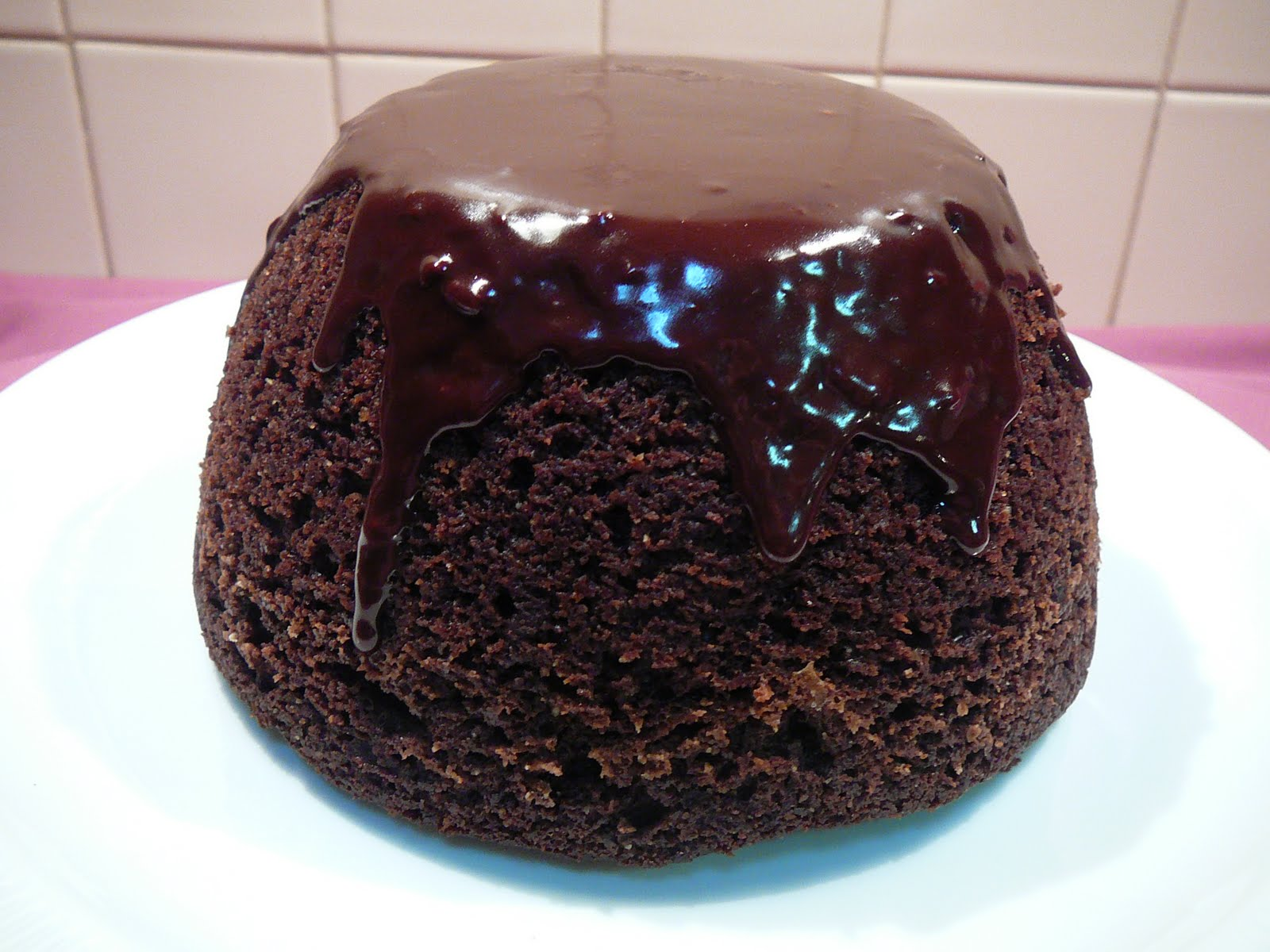 Steamed Chocolate Pudding Cake
