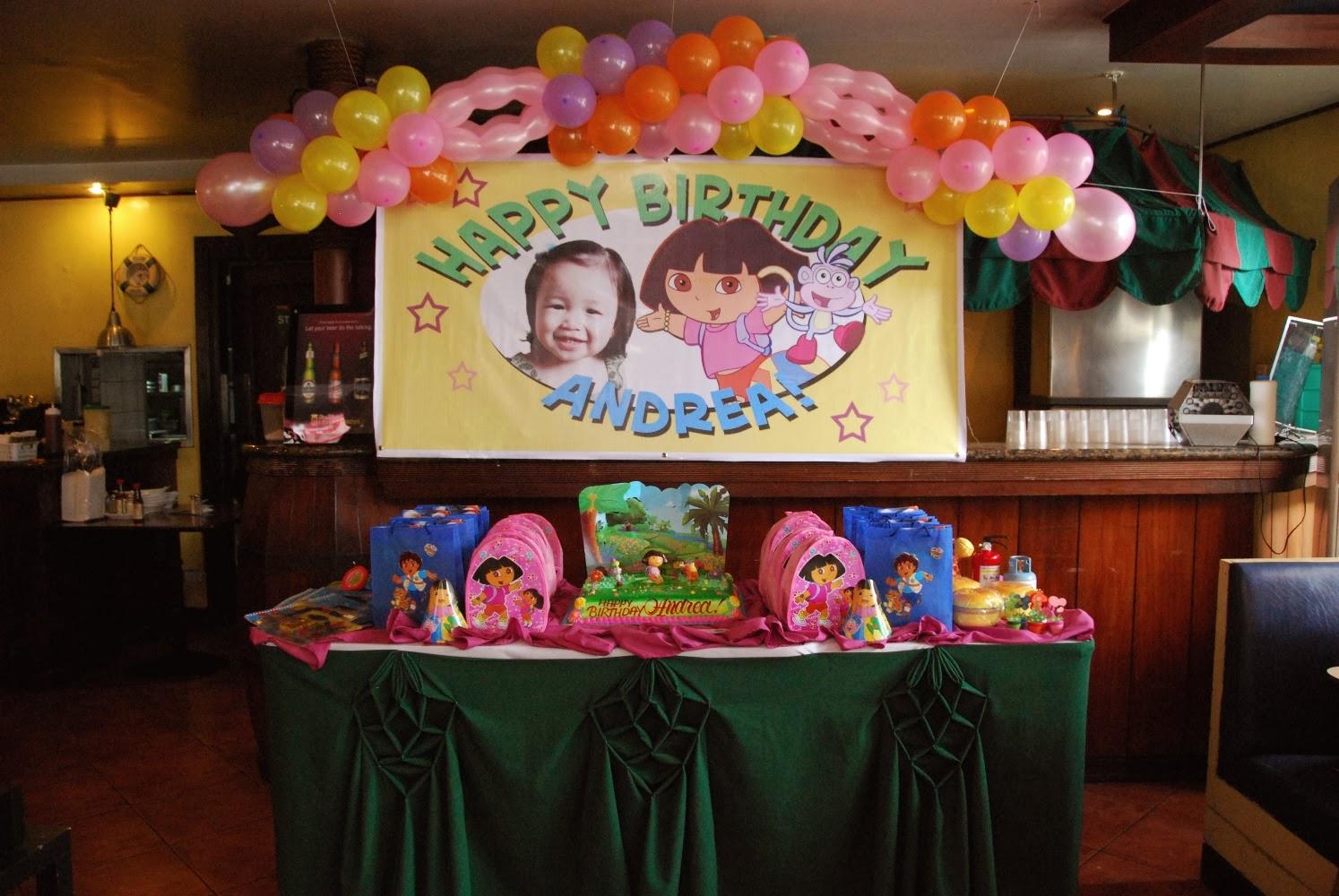 Goldilocks Birthday Cakes Dora