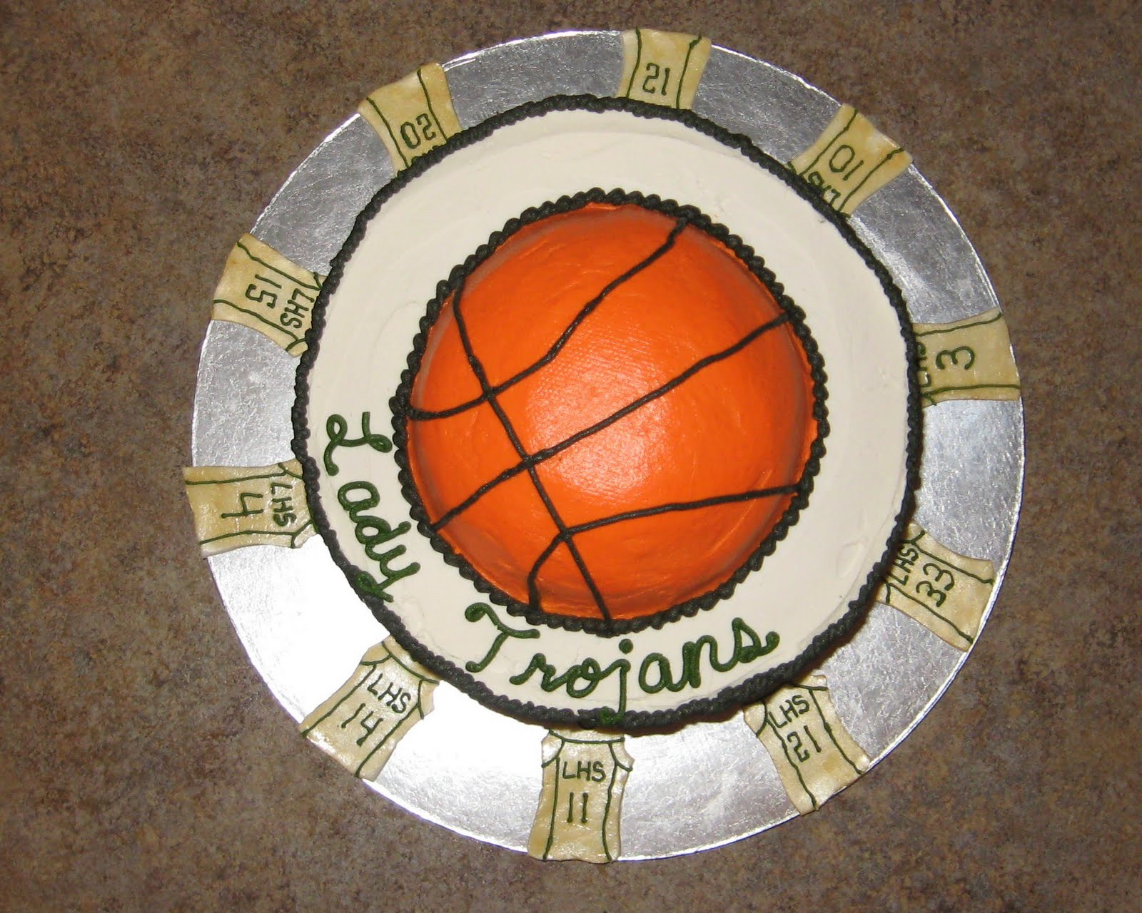 Cakes Basketball Cake
