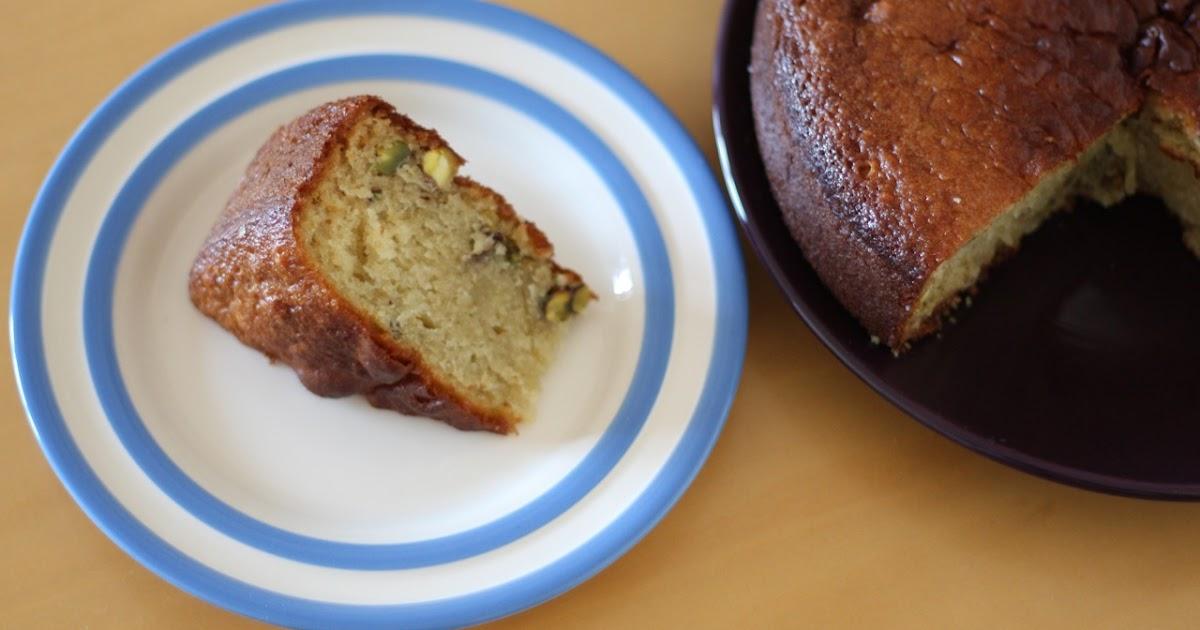 Pistachio Cake Recipe Without Eggs