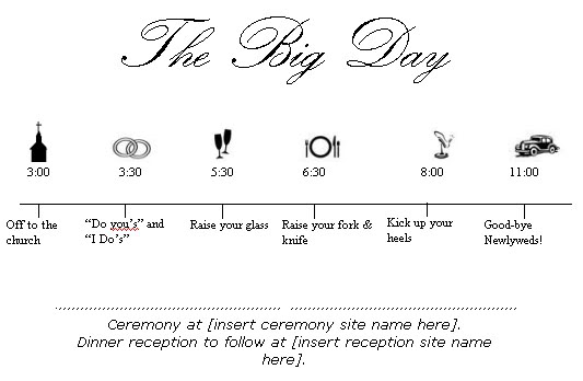 clipart wedding timeline free - photo #21