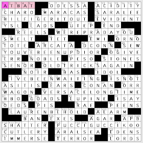 L A Crossword Confidential Sunday September 6 2009 Merl Reagle