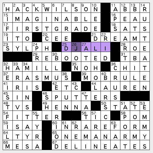 L.A. Crossword Confidential: S A T U R D A Y November 13 ...