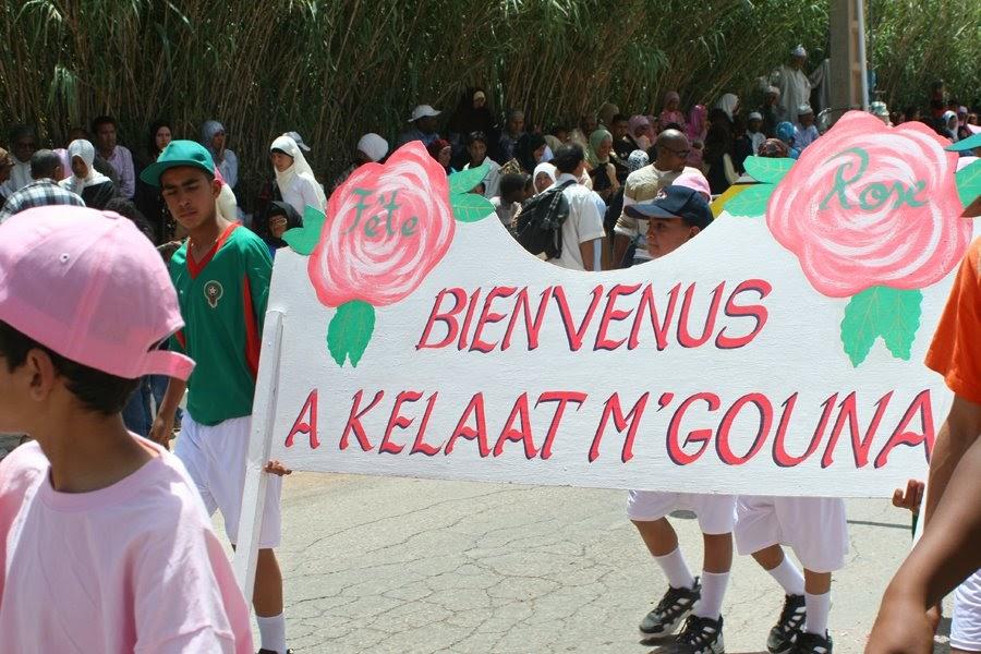 The View From Fez El Kelaa M Gouna Rose Festival