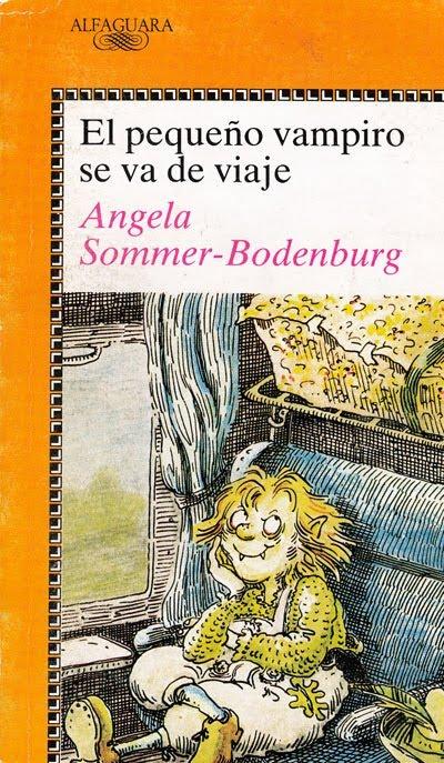 once_upon_a_time...: El pequeño vampiro se va de viaje Angela Sommer-Bodenburg