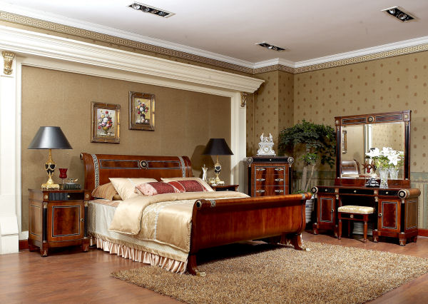 Empire Style - Classic Bed Room French Design
