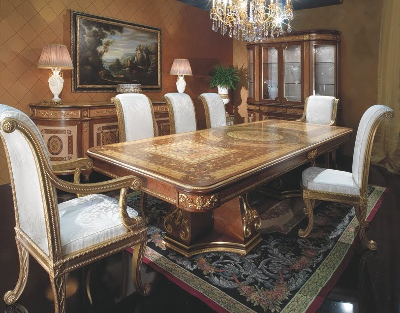 Italian Dining Room in NeoClassic Style