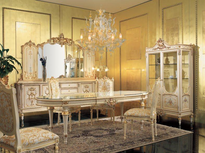 Dining Room In Venetian Baroque Style