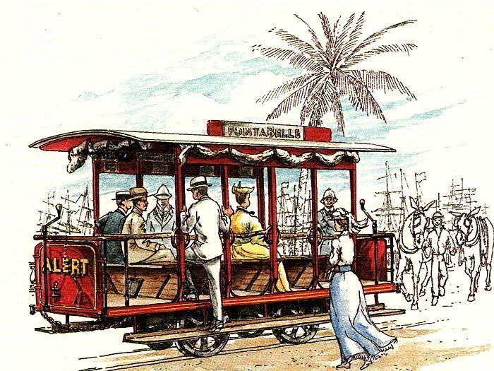 A Bajan Tour Girl Exploring Barbados Barbados Tramway