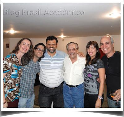 Lucio Mauro, Lucio Mauro Filho, Luly Barbalho e Alexandre Barbalho em Lucio 80 30 (em Brasília)