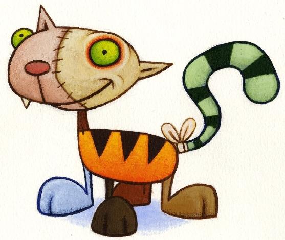 Frankensteinia the frankenstein blog frankenstein 39 s cat - Cat cartoon shows ...