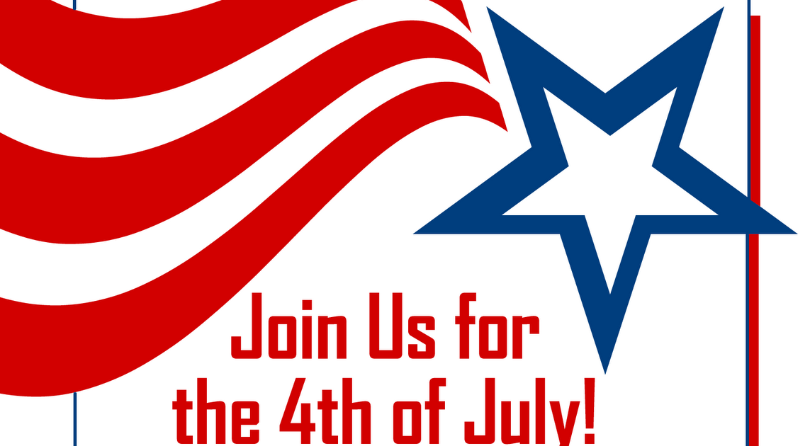 Free Printable Party Invitations: Red, White and Blue 4th ...