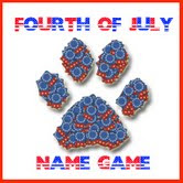 Fourth of July Name Game