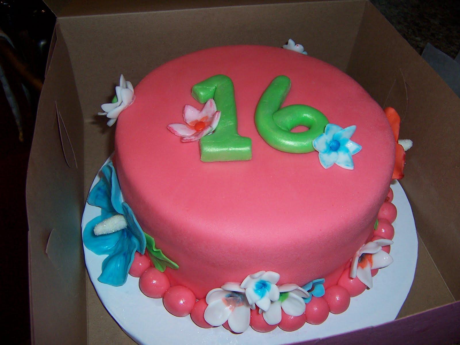 Birthday Cake 16 Year Old Boy