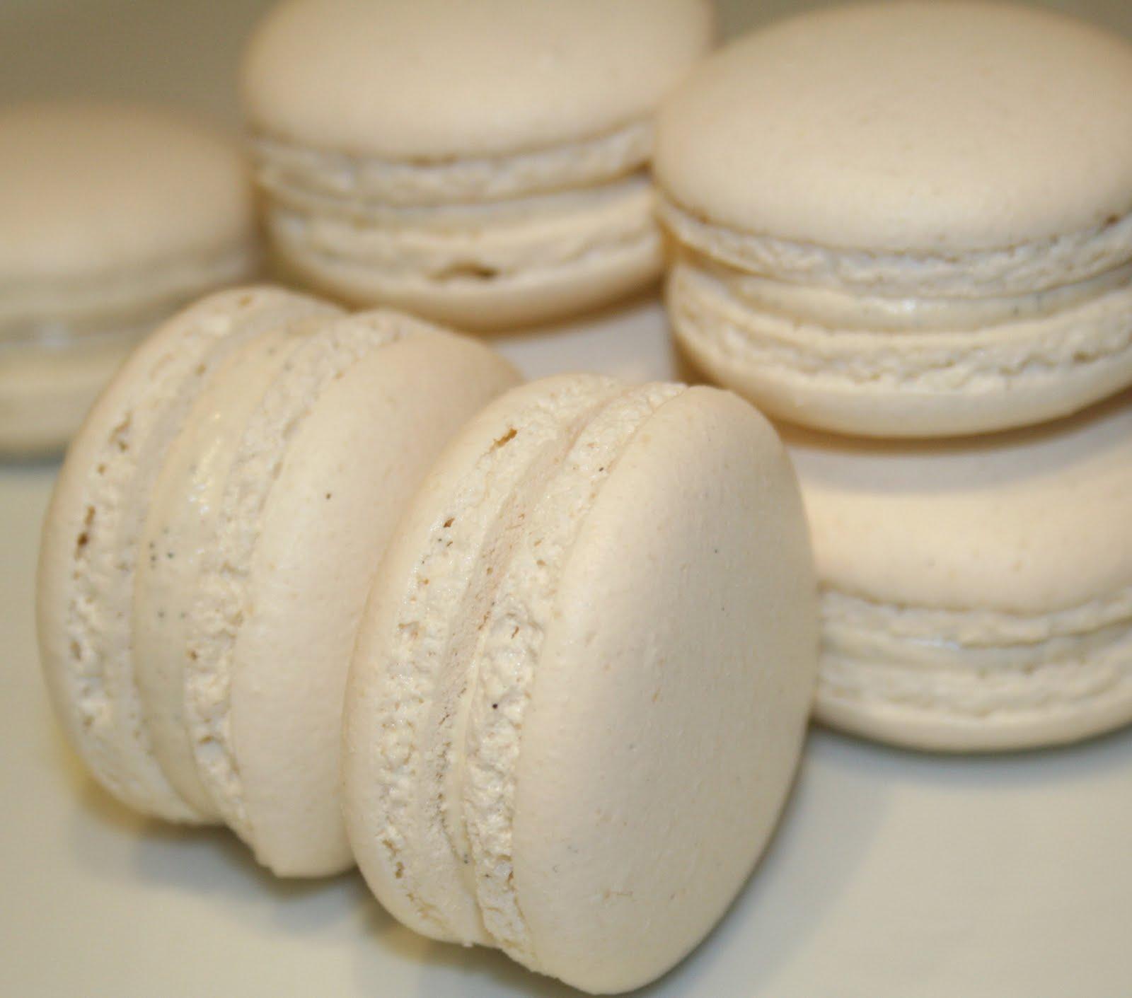 La Cuisine de Bernard : Macarons Vanille