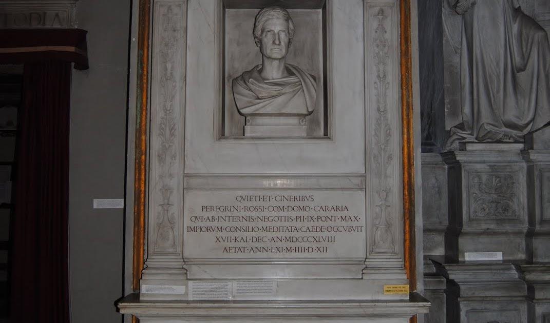 Orbis Catholicus Secundus: Tomb Of Pellegrino Rossi