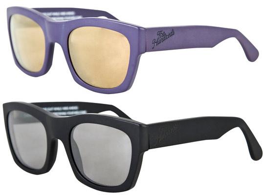 de6132c28db The Hundreds 2010 Phoenix sunglasses in black and purple