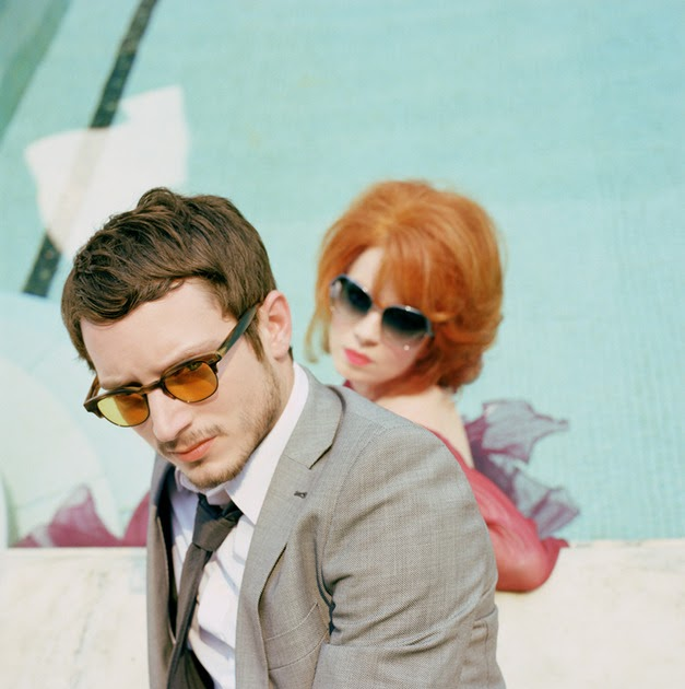 47ab5cb189 Oliver Peoples 2010 ads featuring Elijah Wood and Shirley Manson ...
