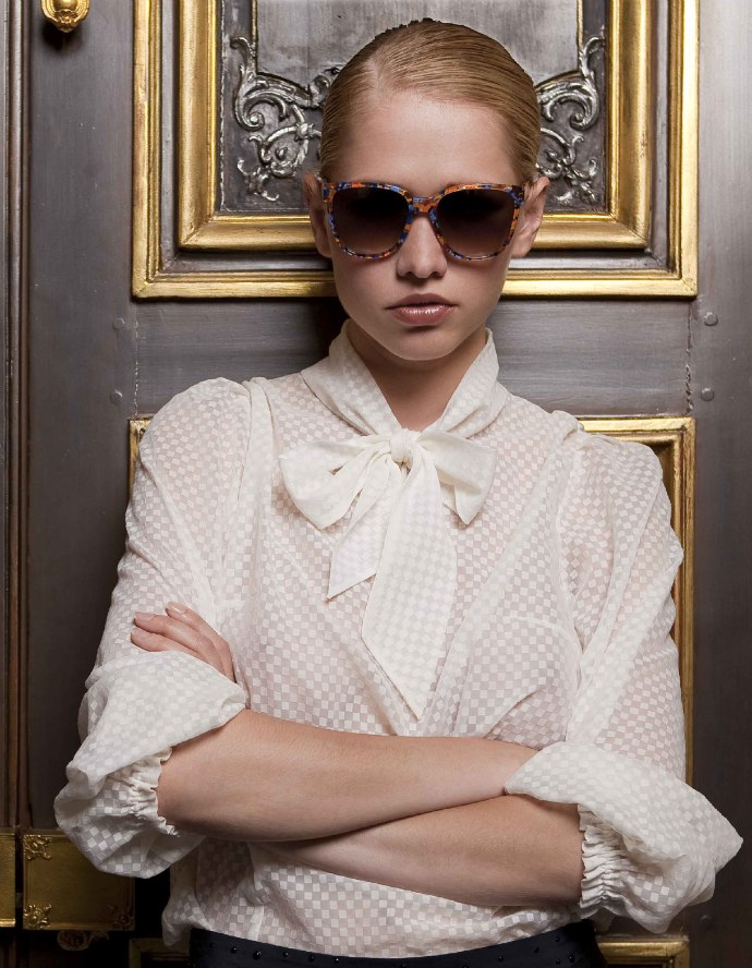 Thierry Lasry 2011 sunglasses using vintage Mazzucchelli acetate: Hooky