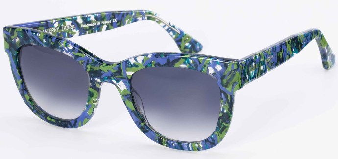 Thierry Lasry 2011 sunglasses using vintage Mazzucchelli acetate: Obsessky