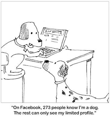 Dog Facebook
