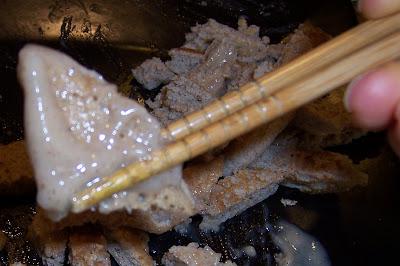 pancakes chopsticks