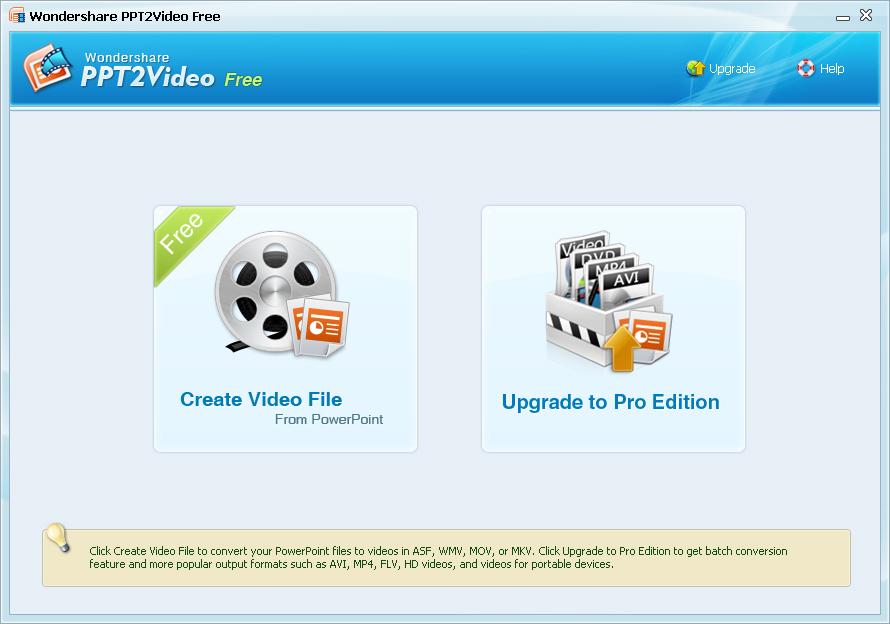免費 PowerPoint 轉 Video 軟體