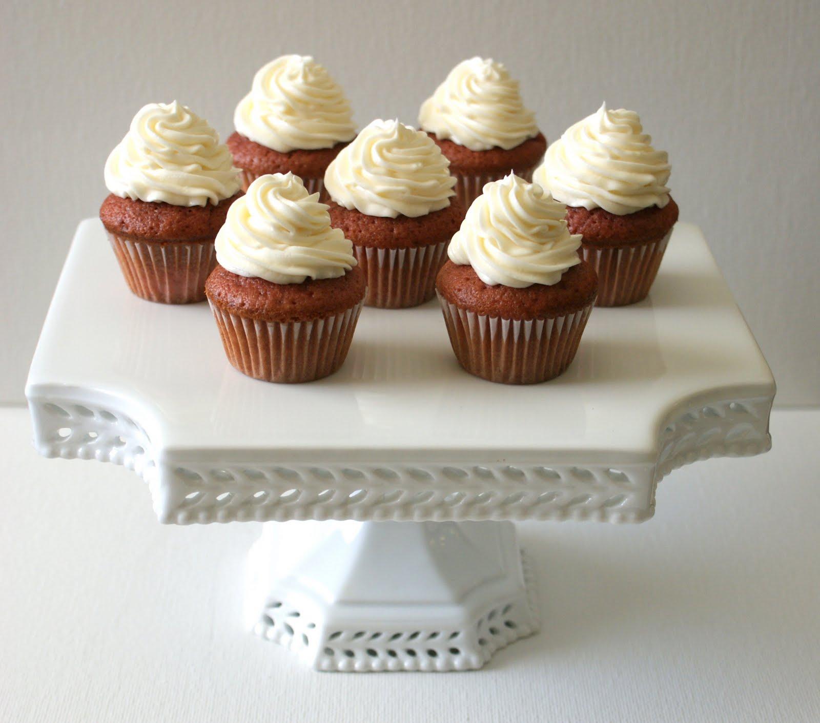Authentic Suburban Gourmet: Mini Red Velvet Cupcakes