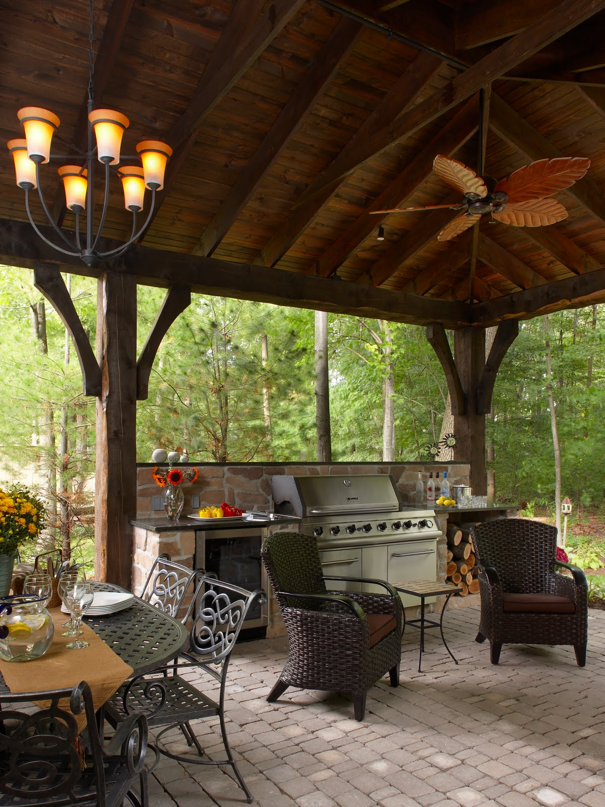 Dominick Tringali Architects: Outdoor Living Spaces for ... on Garden Living Space id=63114