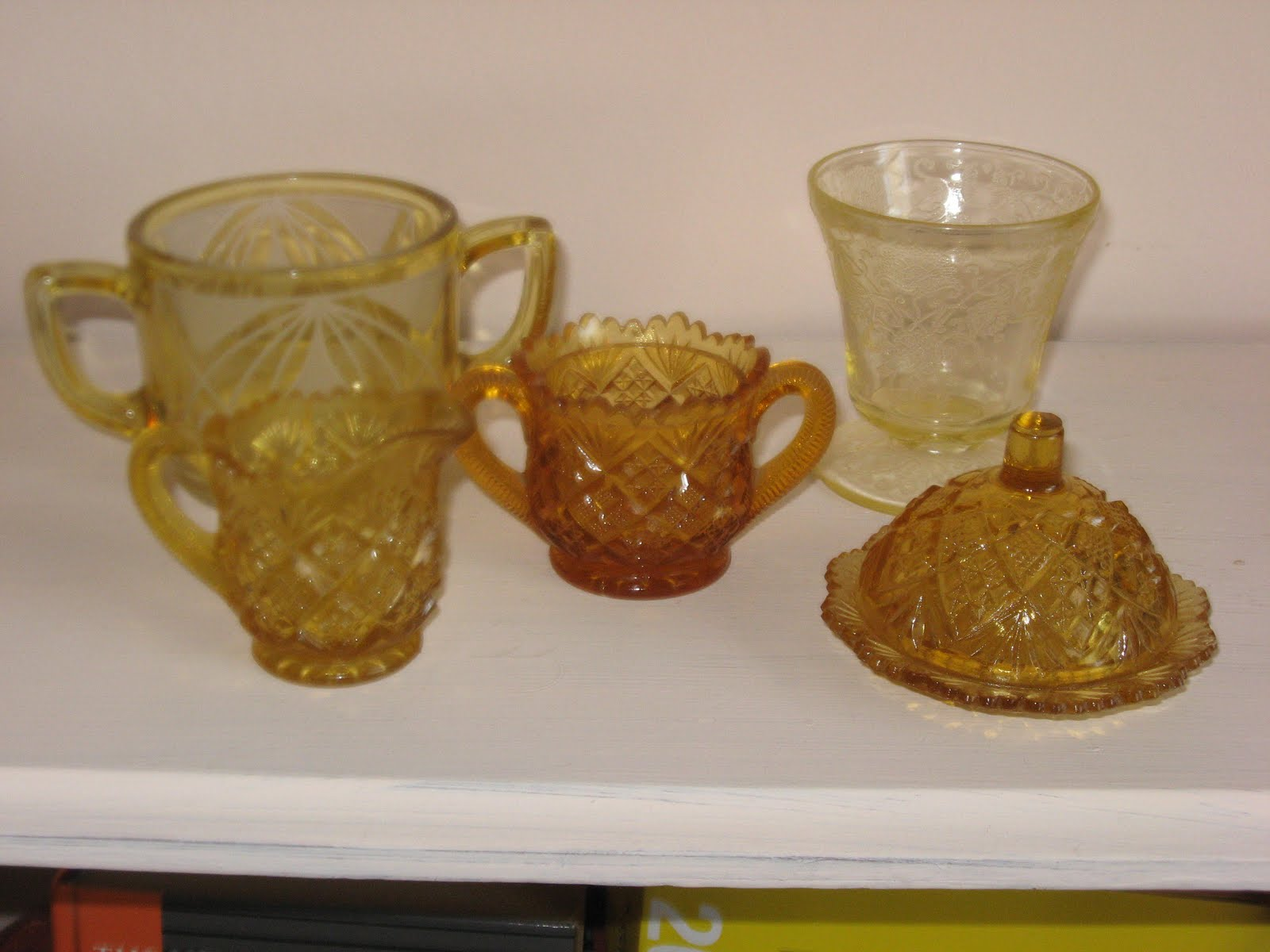 Amber Depression Glass Patterns Awesome Design Inspiration