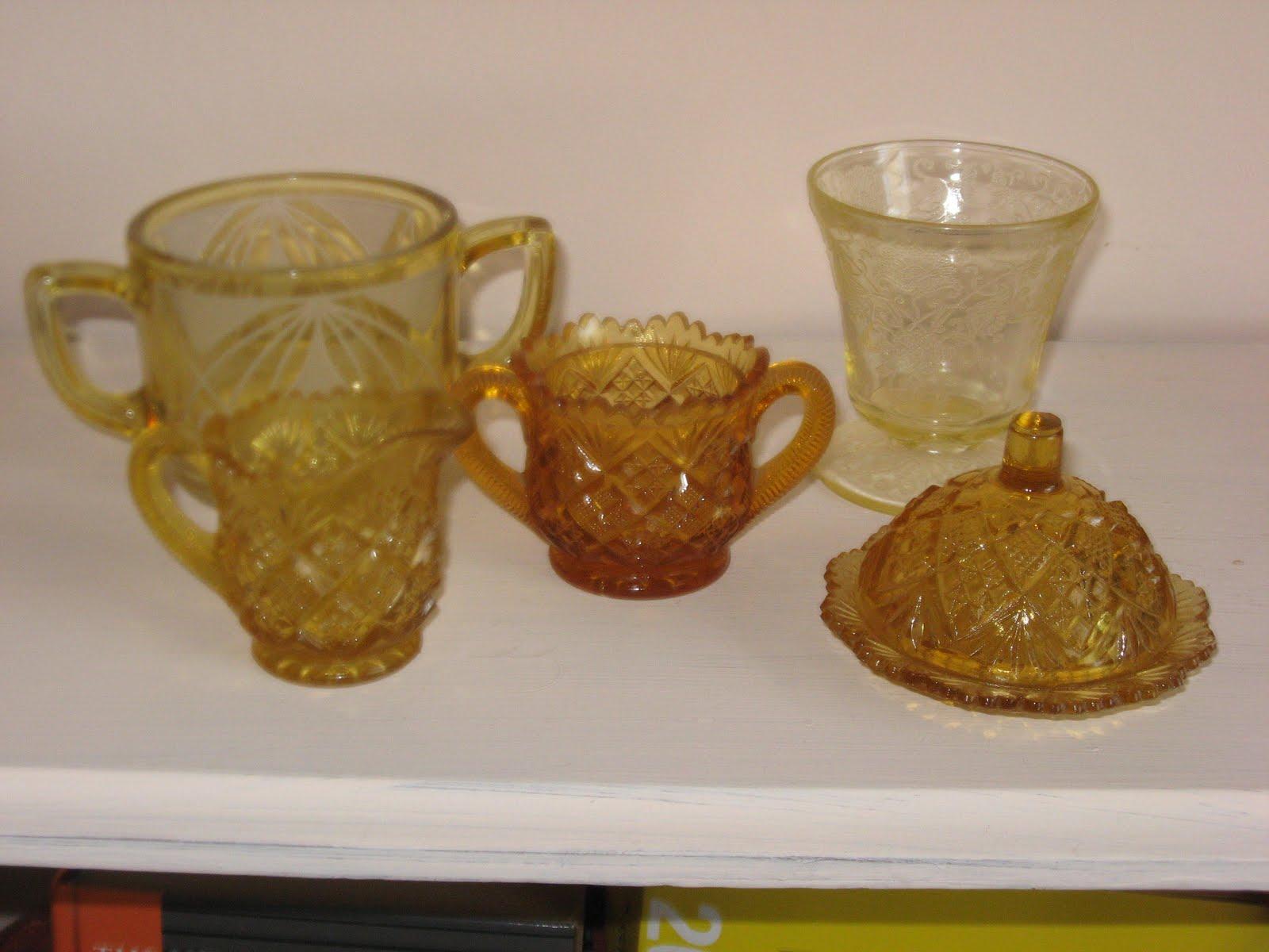 Amber Depression Glass Patterns Awesome Design Inspiration