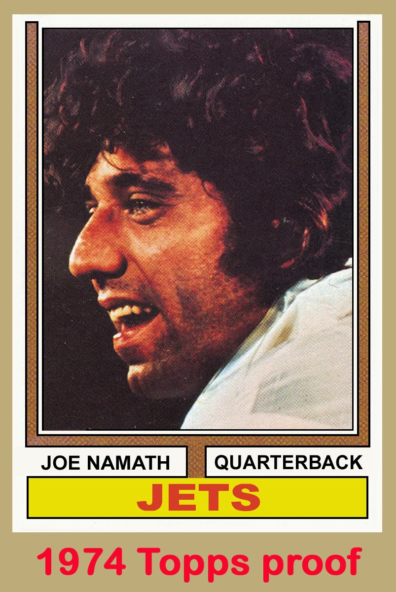 bob lemke u0026 39 s blog  trying to top topps u0026 39  74 namath