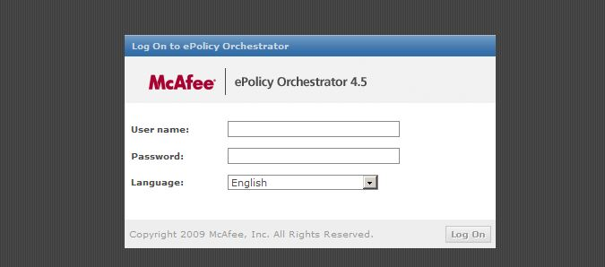 Mcafee Epolicy orchestrator 4 6 Crack