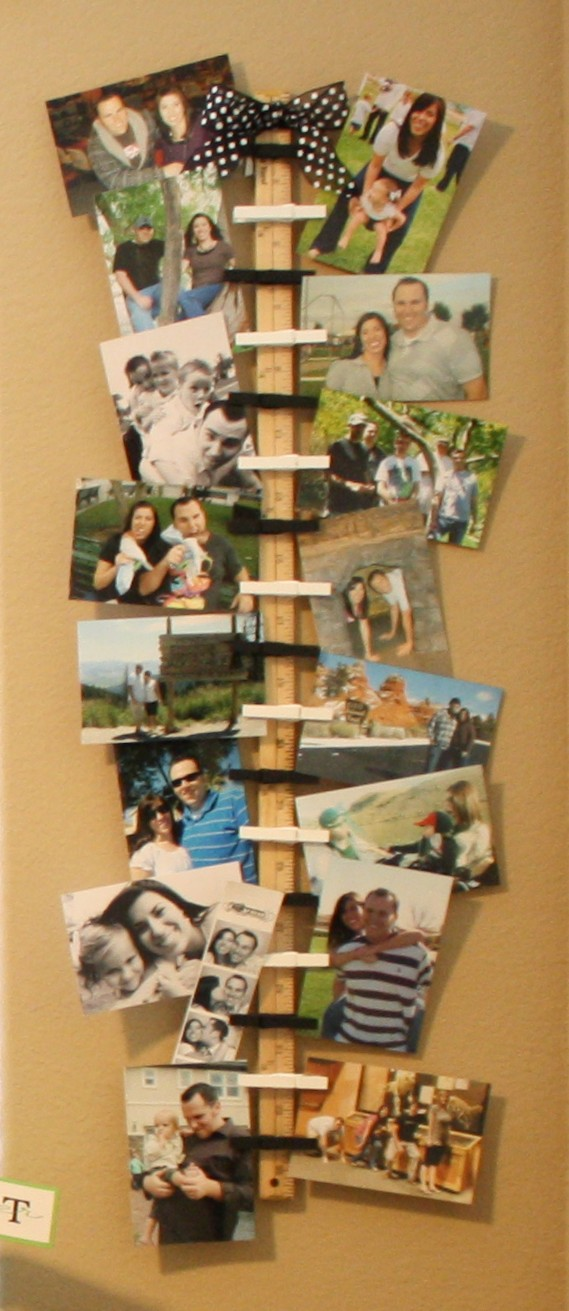 Bayberry creek crafter hanging photo or card holder - Christmas card wall holder ...