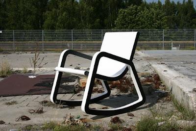 scaun balansoar poza 2