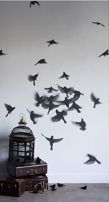 decoratiuni interioare pereti cu tapet