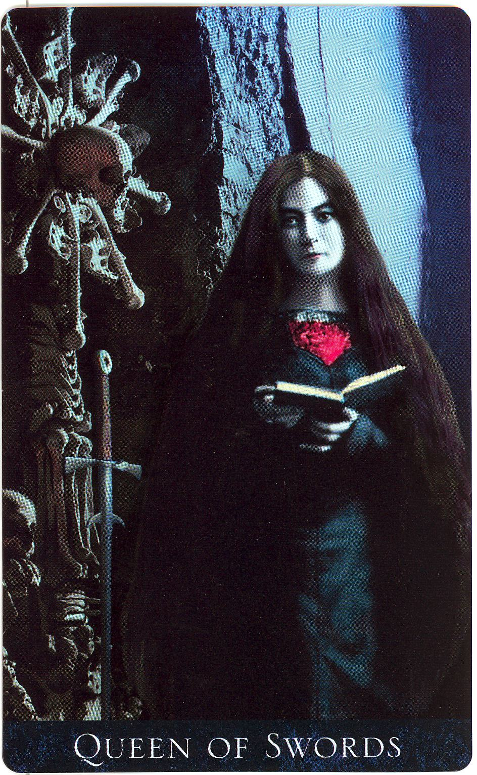 Queen Of Swords Tarot Art 16x20 Poster Print Psychedelic Gypsy: Inner Whispers: Bad Rep Well Deserved? Queen Of Swords