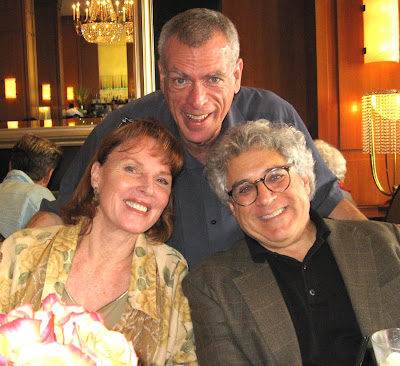Steve Schalchlin, actress Marriette Hartley, actor/writer Jerry Sroka.