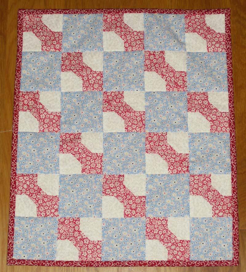 Beaquilter Mini Bowtie Wall Quilt
