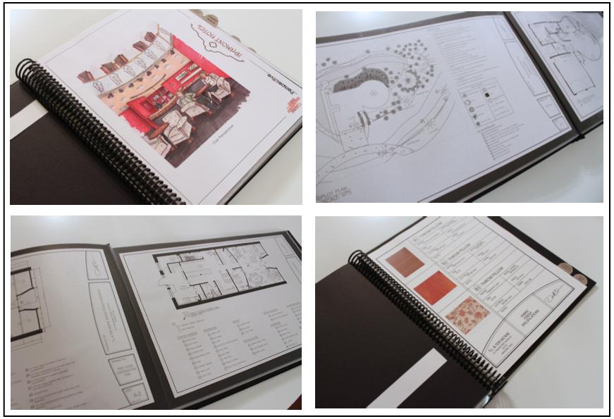 15 Awesome Custom Fashion Design Portfolio Books