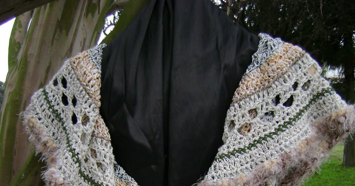 Temple Tejidos En Telar Art 178 Chaleco Mandala Crochet