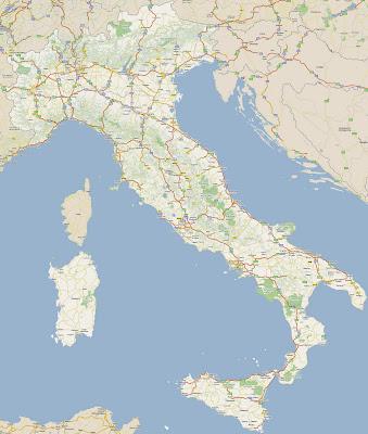 Feroviarii Harta Rutiera Italia
