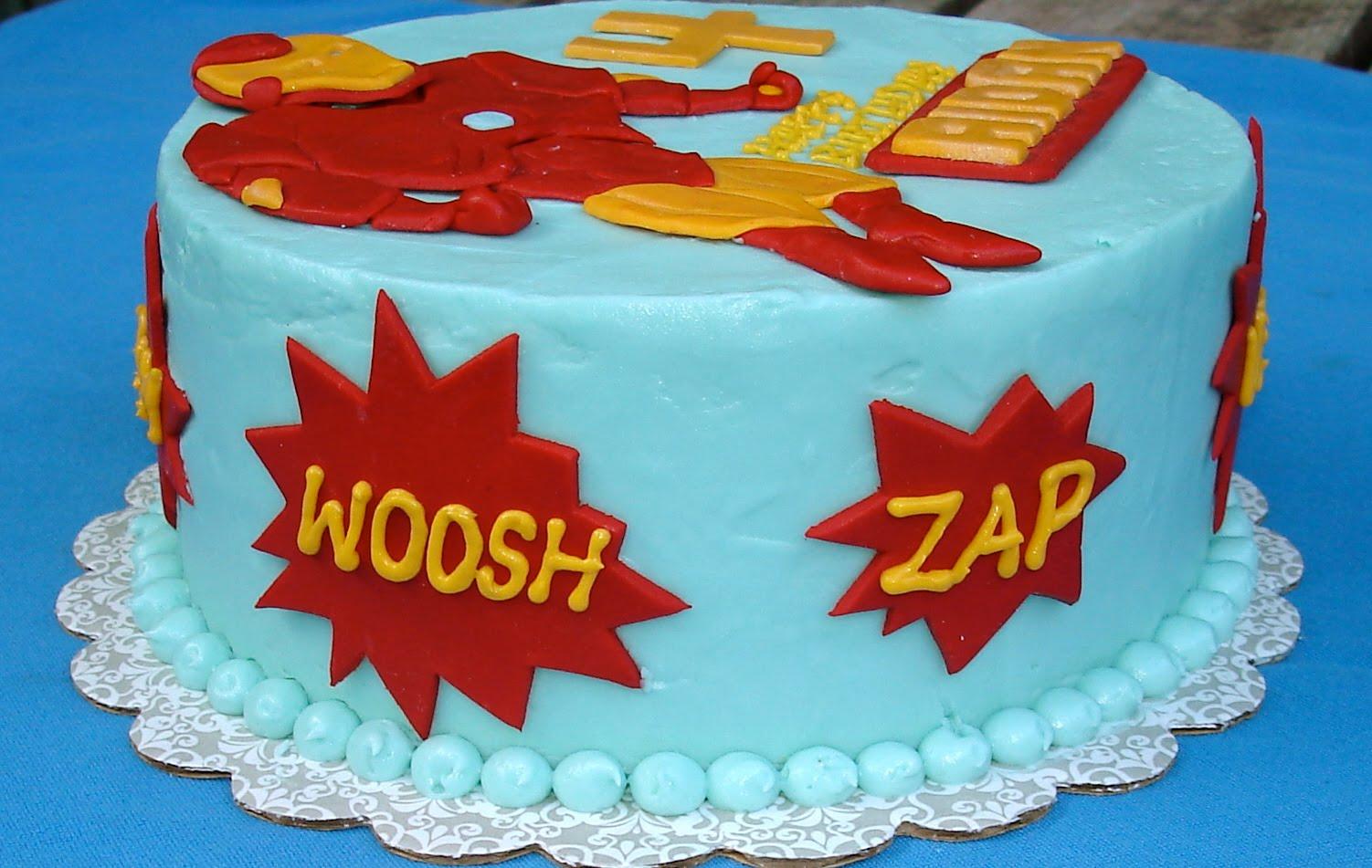 Susana S Cakes Iron Man Birthday Cake