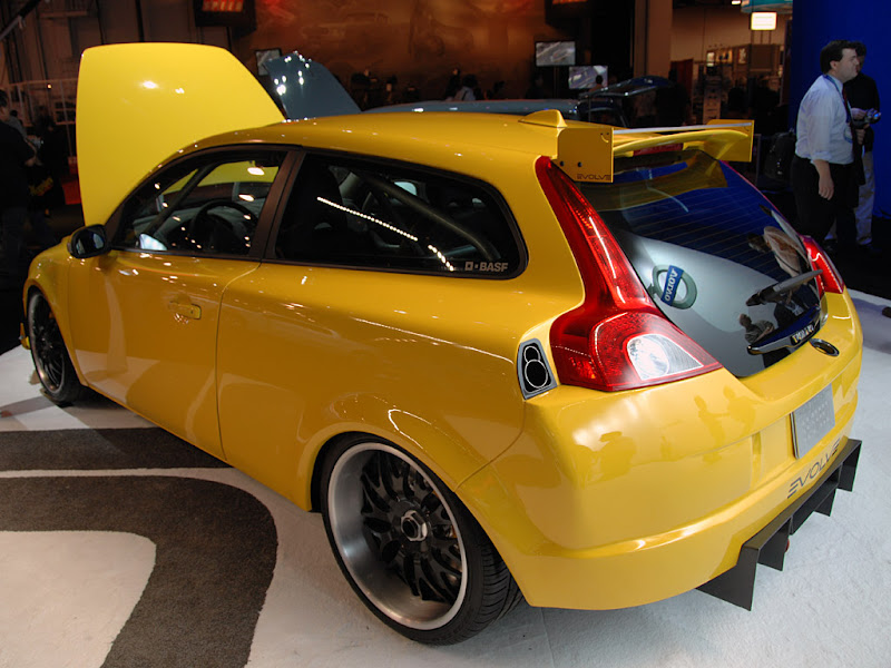 2006 Evolve Volvo C30 Car Modified title=