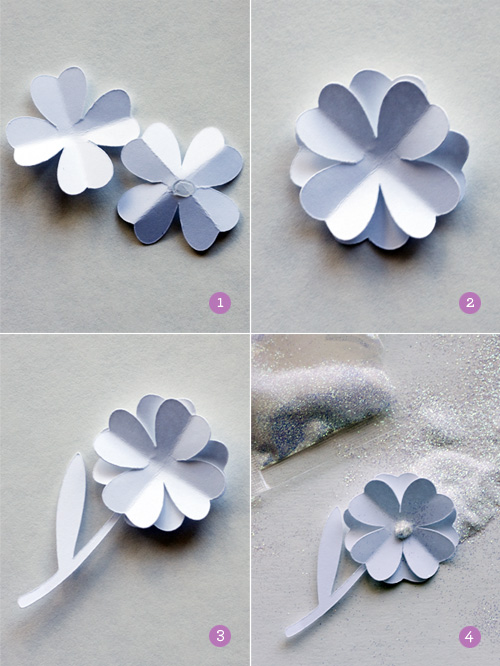 Pretty Little Things: DIY Paper Brooch
