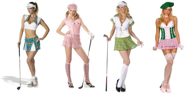 Sexy womens golf clothes