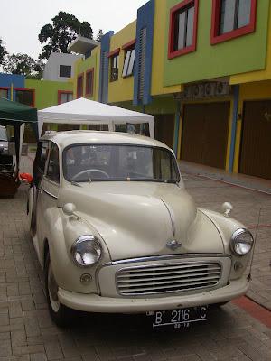 Festival Tempo Doeloe Mobil Morris Traveller Dijual